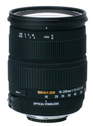 Sigma Nikon fir 18-200mm lens