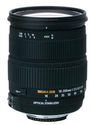 Sigma Nikon fir 18-200mm lens