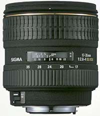 Sigma introduce 17-35mm f/2.8-4 EX DG Aspherical HSM