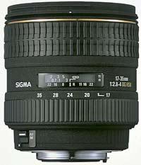 Sigma introduce 17-35mm f/2.8-4 EX DG Aspherical HSM