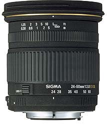 Sigma introduce 24-60mm f/2.8 EX DG