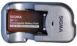 Sigma introduce digital SLR battery charger kit