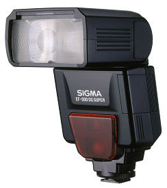 Sigma to upgrade flashguns for use with the K100D free of charge