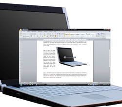 Image of a Laptop and a screen shot