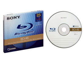 Sony Blu-ray media to ship by the end of March