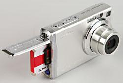 Sony Cyber-shot W200 battery