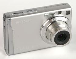 Sony Cyber-shot W200 right