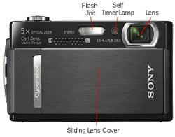 Sony DSC T500 Front