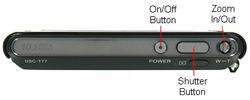 Sony DSC T77 Front