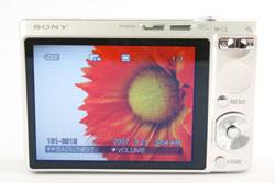 Sony DSC T100 back view