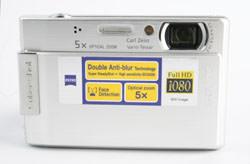 Sony DSC T100 front