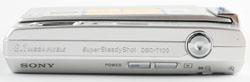 Sony DSC T100 top view