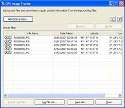 Sony GPS CS1 tracking unit