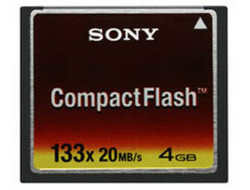 Sony announce CompactFlash product line-up