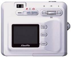Fuji Finepix F401 back view