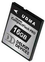 Delkin 16Gb UDMA CompactFlash Card