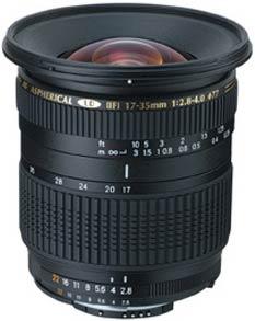 Tamron 17-35mm f/2.8-4 SP AF Di