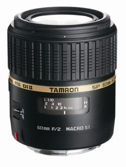 Tamron SP AF 60mm F/2.0 Di II Macro 1:1