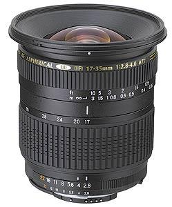 Tamron Super wide-angle 17-35mm f/2.8 Di lens announced