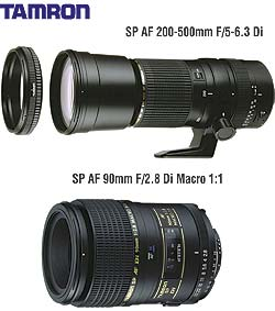Tamron increase Di Lens range