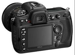 Nikon D300 Back