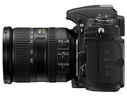 Nikon D300 Side
