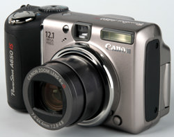 Canon Powershot A650 IS recalled