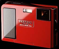 The limited-edition Ferrari DIGITAL MODEL 2004