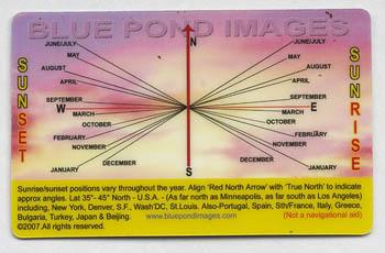 sunrise chart