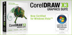 �100 cashback on CorelDRAW Graphics Suite X3