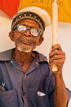 Photograph of older man by David Taylor