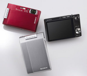 Sony Cyber-Shot T100 - top spec style camera