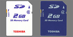 Toshiba SD cards announced with upto 20MB/s transfer rate