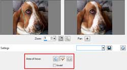 Step four in the Depth of Field tutorial in Paint Shop Pro X2