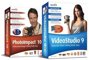 Ulead VideoStudio 9 and PhotoImpact 10 cost-saving bundle introduced