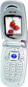 Vodafones VK530 pink camera phone