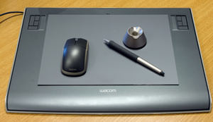 Wacom Intuous3 graphics tablet