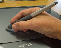 Wacom Intuous3 graphics tablet pen