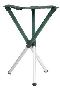Walkstool portable and comfortable seating for photographers