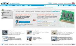 Crucial.com relaunch website