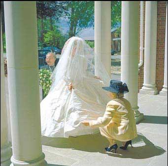 Wedding photography technique
