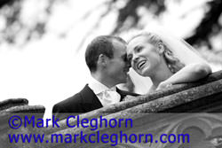 Wedding portrait by Mark Cleghorn
