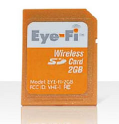 Eye-Fi Wireless Memory Card
