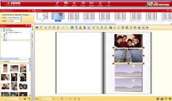 CeWe design for a photobook