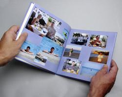 Inside a Cewe photobook