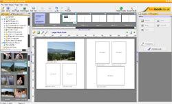 Fotobook software screen shot