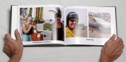Inside a Tesco photo book