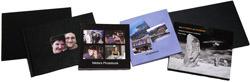 Line of photo books