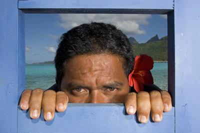 Raimana Van-Bastolaer, Tahiti, June 2009