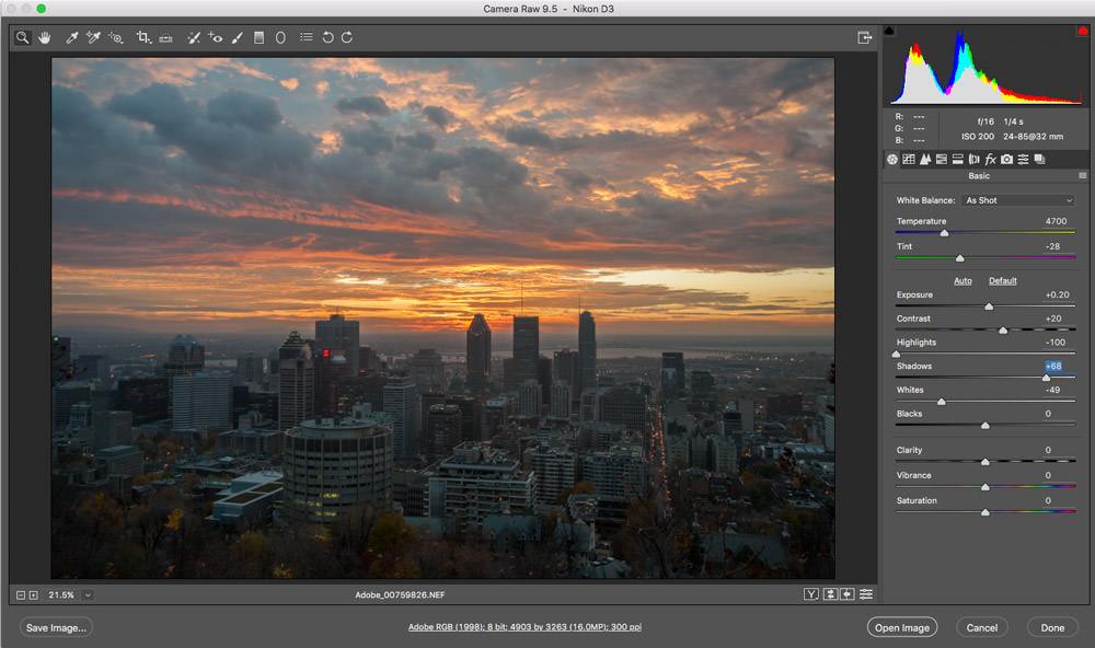 Adobe Light Room Acr Update